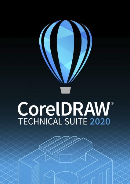 COREL CorelDRAW Technical Suite 2020 ESD, Win, Upgrade (DE/EN/FR)