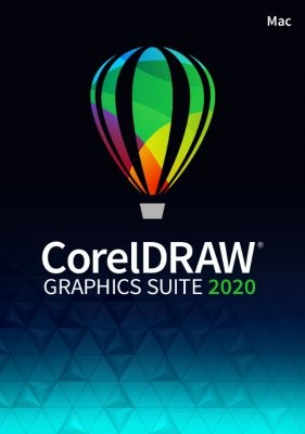 Corel DRAW Graphics Suite 2020 ESD-Lizenz, Mac, Deutsch