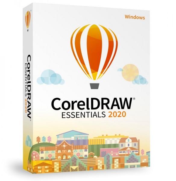 COREL CorelDRAW Essentials 2020 Box, Windows, Deutsch