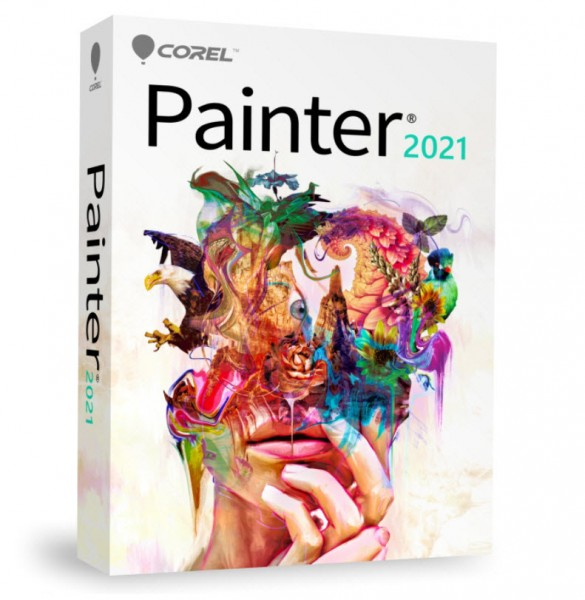 COREL Painter 2021 Upgrade DEUTSCH Windows/Mac ESD-KEY