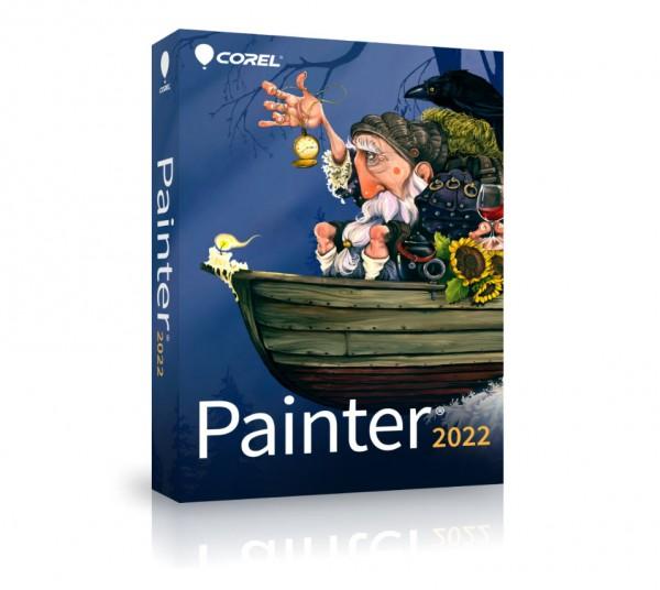 COREL Painter 2022 Vollversion DEUTSCH Windows/Mac Box (Slim-Case)