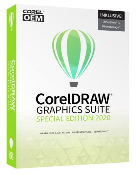Corel DRAW Graphics Suite Spezial Edition 2020 V.22 DVD Box Windows NEU