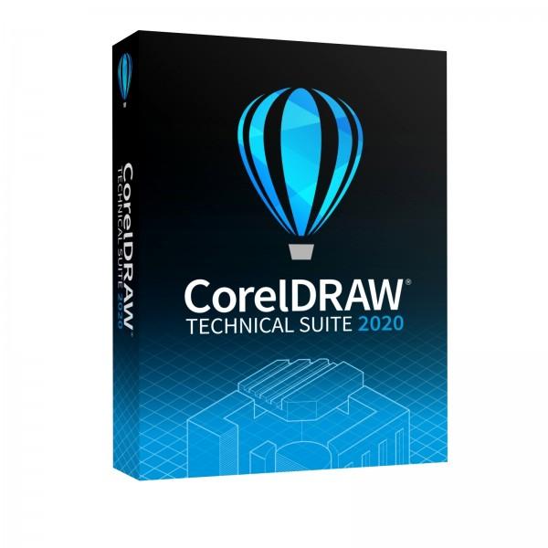 COREL CorelDRAW Technical Suite 2020 Box Vollversion (DE/EN/FR)