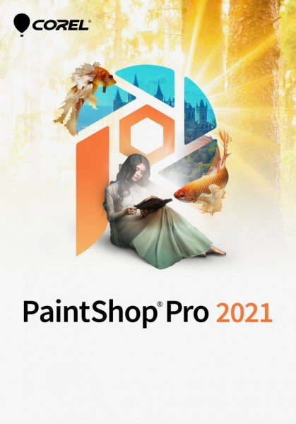 COREL PaintShop Pro 2021 Win, Deutsch, ESD-Key, (Multiingual)
