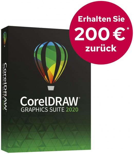 Corel DRAW Graphics Suite 2020 Box, Win, DVD, Deutsch, (Cash Back)