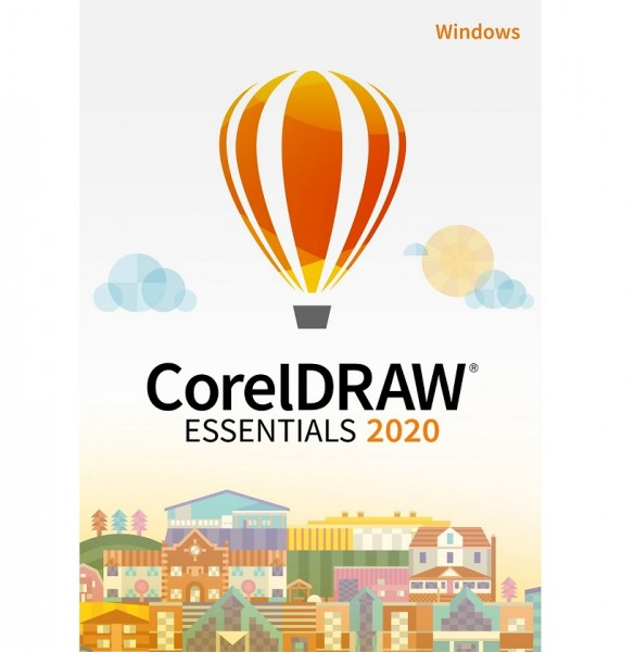 COREL CorelDRAW Essentials 2020 ESD-Key, Windows, EN/FR/ES/BR/IT/NL