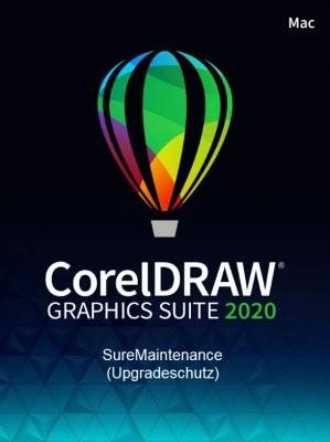 Corel DRAW Graphics Suite 2020 SureMaintenance (1 Jahr Schutz, Mac)