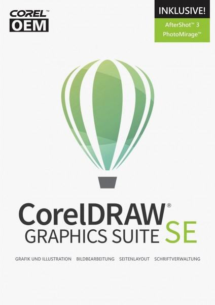 Corel DRAW Graphics Suite Spezial Edition 2019 ESD Download, Windows