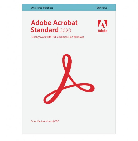 Adobe Acrobat Standard 2020 Upgrade Lizenz Win
