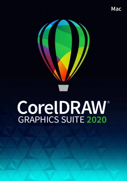 Corel DRAW Graphics Suite 2020 ESD-Lizenz, Mac, Deutsch
