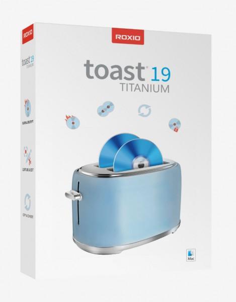 Roxio Toast Titanium 19 BOX Mac Deutsch