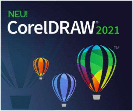 Corel DRAW Graphics Suite 2021 ESD-Lizenz, Win, Deutsch