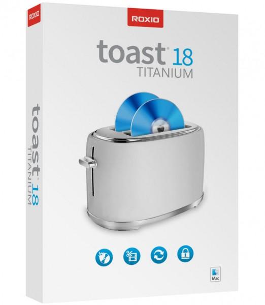 Roxio Toast Titanium 18 BOX Mac Deutsch