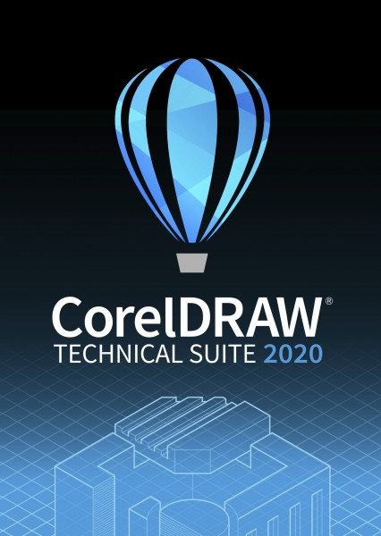COREL CorelDRAW Technical Suite 2020 ESD, Win, Vollversion (DE/EN/FR)