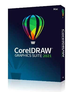 Corel DRAW Graphics Suite 2021 Box, Mac, Deutsch