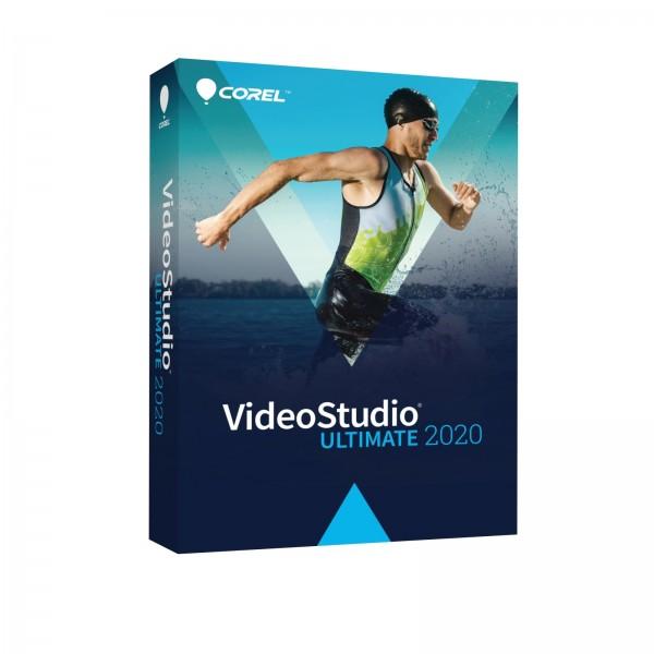 Corel VideoStudio 2020 Ultimate Deutsch Box (Multilingual)