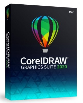 Corel DRAW Graphics Suite 2020 Box, Mac, Deutsch