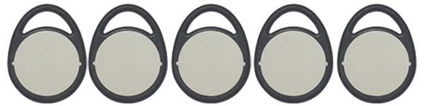 IDENTSmart Zeiterfassung 5er Pack Mitarbeitertoken (RFID-Chips)