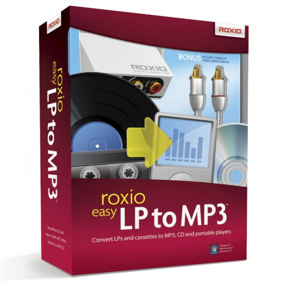 Roxio Easy LP to MP3 DEUTSCH #BOX