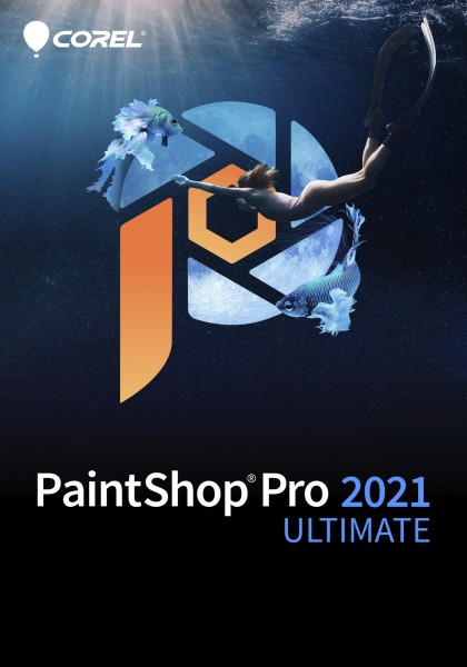 COREL PaintShop Pro 2021 Ultimate, Win, Deutsch ESD-Key, (ML)