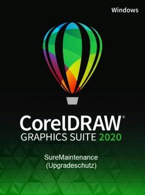 Corel DRAW Graphics Suite 2020 SureMaintenance (1 Jahr Schutz, Win)