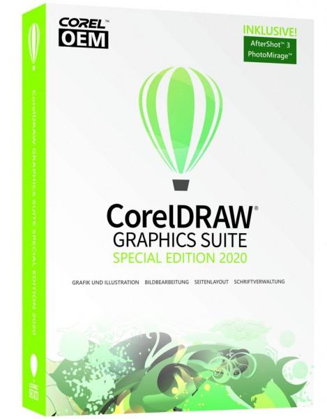Corel DRAW Graphics Suite Spezial Edition 2020 DVD Box Windows