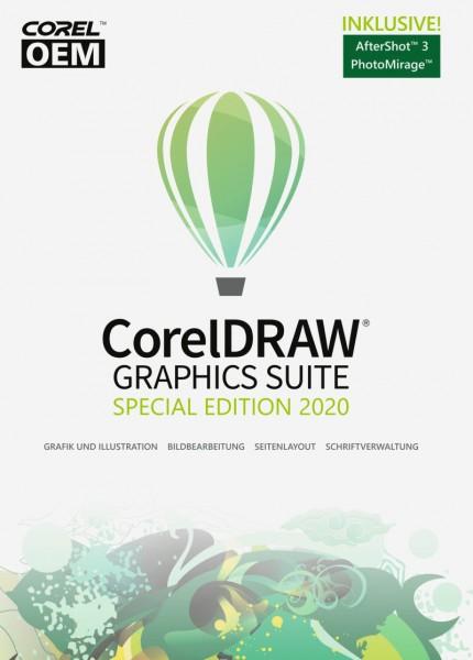 Corel DRAW Graphics Suite Spezial Edition 2020 ESD Download, Windows