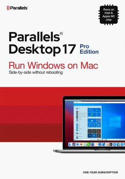Parallels Desktop 17 PRO für MAC *1-Jahr* ESD-Download