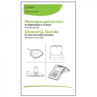 Reinigungskarten nicht nur für Chipdrive Kartenleser (25er-Pack)
