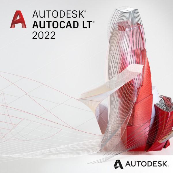 """Autodesk AutoCAD LT 2022 für Win - 1 Jahr Abonnement inkl. Support """"NEU""""!"""