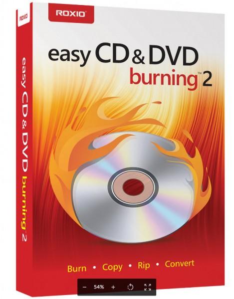 Roxio Easy CD & DVD Burning 2 DEUTSCH #BOX