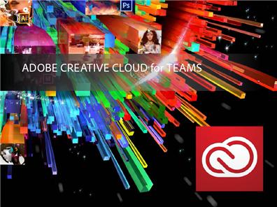 Adobe Creative Cloud for Teams für 1 Jahr (Abo/Mietmodell)