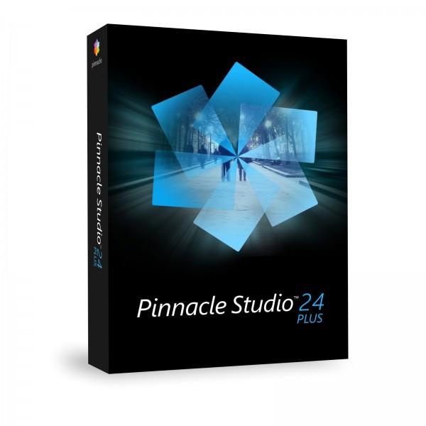 Pinnacle Studio 24 (2021) Plus Win, Deutsch, Box, (Multilingual)